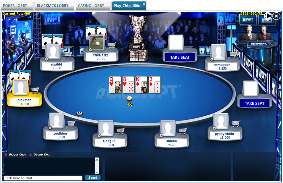 ClubWPT Table